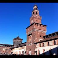Foto scattata a Castello Sforzesco da Noemi G. il 3/21/2013