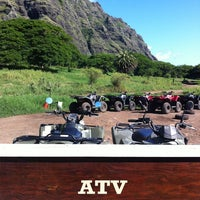 Photo taken at ATV at Kualoa Ranch by Annie P. on 8/15/2013