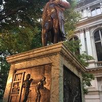 Photo taken at Benjamin Franklin Statue by HaNJiN L. on 8/18/2017