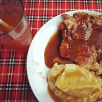 Photo taken at Salmon Steak Restaurant by David L. on 10/20/2013