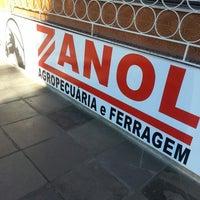 Photo taken at Zanol Agropecuária e Ferragem by Renata H. on 9/11/2013