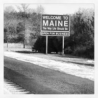 Photo taken at Maine State Line by Emily H. on 1/26/2013