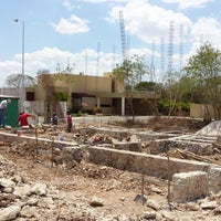 Photo taken at Residencial Xcanatun by Alfonso A. on 4/3/2014