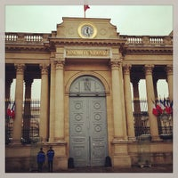 Photo taken at Assemblée Nationale by Julien-David N. on 3/13/2013