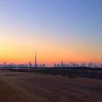 Photo taken at Ras Al Khor Wildlife Sanctuary محمية راس الخور by Jaber M. on 11/28/2013