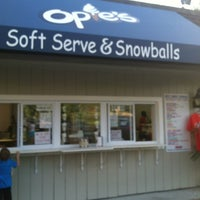 Photo taken at Opie's Soft-Serve & Snowballs by Amanda P. on 6/1/2013