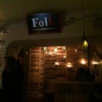 Photo taken at Folk by Mau A. on 2/14/2016