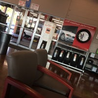 Photo taken at Firestone Complete Auto Care by Jane O. on 2/19/2015