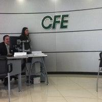Photo taken at CFE Centro de Atencion a Clientes D-C Cuajimalpa by Aszel Q. on 3/20/2013