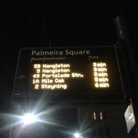 Photo taken at Palmeira Square Bus Stop Westbound by Rana D. on 12/13/2014