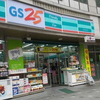 Photo taken at GS25 by kwon0fe on 4/19/2014