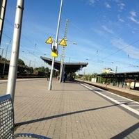 Photo taken at Gütersloh Hauptbahnhof by Markus K. on 6/17/2013