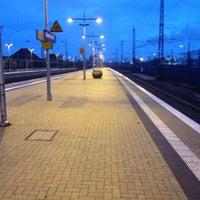 Photo taken at Gütersloh Hauptbahnhof by Markus K. on 12/5/2012