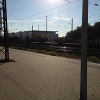 Photo taken at Gütersloh Hauptbahnhof by Markus K. on 6/7/2013