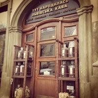 Снимок сделан в Львівська копальня кави пользователем Andrew Fominykh P. 3/12/2013
