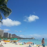 Photo taken at Moana Surfrider, A Westin Resort & Spa, Waikiki Beach by Jeehee P. on 7/12/2013