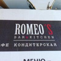 Снимок сделан в Romeo's Bar & Kitchen пользователем Ekaterina Gn S. 5/3/2013