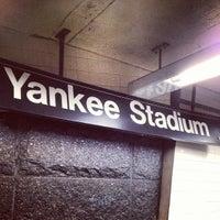 Das Foto wurde bei MTA Subway - 161st St/Yankee Stadium (4/B/D) von Romain P. am 3/4/2013 aufgenommen