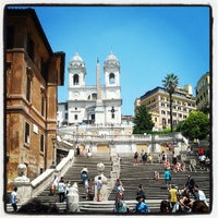 Photo taken at Piazza di Spagna by Giuseppe G. on 7/6/2013