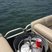 Photo taken at Lake Minnewaska by Dustin V. on 7/5/2013