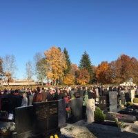 Photo taken at Friedhof Markt Schwaben by Luke S. on 11/1/2015