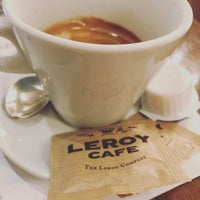 Photo taken at Leroy Cafe by Barna L. on 4/20/2017