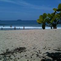 Photo taken at Praia do Félix by Silvia S. on 12/31/2012