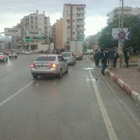 Photo taken at Adnan Menderes Bulvarı by H'üseyin A. on 12/30/2016