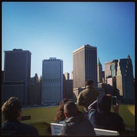 Photo taken at New York Water Taxi - Pier 11, Slip A by Edgar P. on 5/13/2013