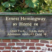 Photo taken at Ernest Hemingway Home & Museum by Taylor M. on 12/27/2012