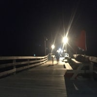 Photo taken at Avon Fishing Pier by Angie S. on 7/12/2017