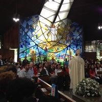 Photo taken at Capela da USJT by Ricardo Aparecido T. on 5/18/2014
