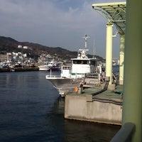 Photo taken at 淡路ジェノバライン 岩屋乗り場 by hitcher on 12/17/2012