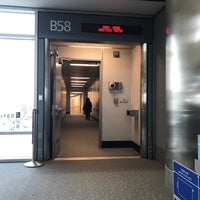 Photo taken at Gate B58 by Gregory G. on 2/24/2017