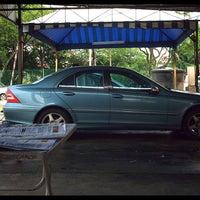 Photo taken at BHP SS12 car wash by Haris R. on 6/15/2014