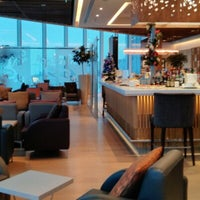 Photo taken at Malaysia Airlines Golden Lounge by Haris R. on 12/12/2012