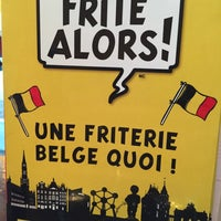 Photo taken at Frite Alors! by Alline A. on 5/19/2015