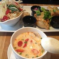 Photo taken at Nahm Thai Kitchen by Raghenie B. on 10/3/2013