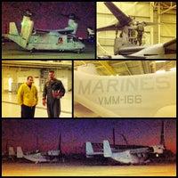 Photo taken at MCAS Miramar Hangar 6 by Tyler L. on 10/25/2012