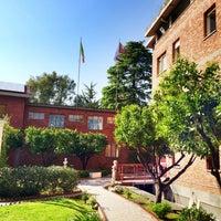 Photo taken at Loyola University by Nawaf A. on 4/18/2013