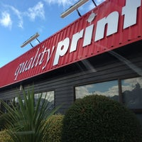 Photo taken at Quality Print Ltd. by Cathy V. on 12/28/2012