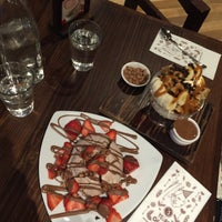 Photo taken at Max Brenner Chocolate Wollongong by Shazy S. on 8/5/2015