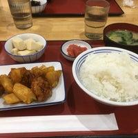 Photo taken at 厚木恩名食堂 by ぱ on 7/7/2017