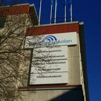 Photo taken at Medborgarskolan by [Calle] L. on 4/18/2016