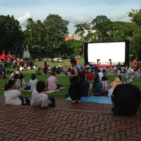 Photo taken at Fort Canning Park by Yaz Y. on 2/23/2013