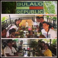 Photo taken at Bulalo Republic by Leandro S. on 9/1/2013