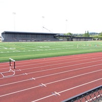 Photo taken at Renton Memorial Stadium by Andrew W. on 6/20/2014