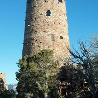 Photo taken at Desert View Watchtower by Kris G. on 3/25/2014