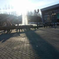 Photo taken at Театральная площадь by юрий р. on 5/11/2013