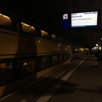 Photo taken at Intercity Eindhoven - Maastricht by Marc B. on 10/25/2017